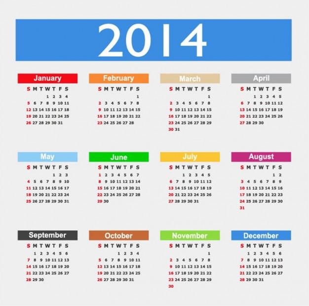 descarga el Calendario laboral Valencia 2014